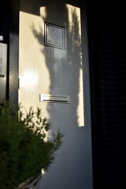 Voordeur sticker