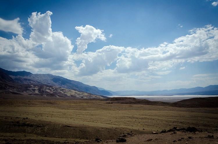 Panorámica del Death Valley