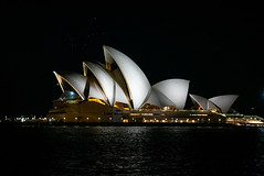 Sydney Opera house at Night 2