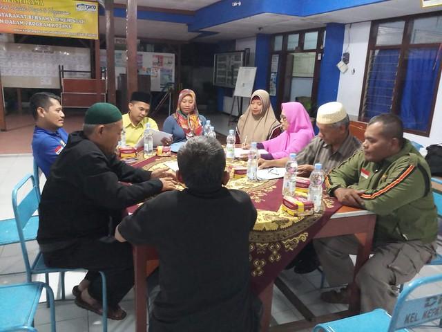 Suasana Rapat Pleno DPSHP Akhir oleh PPS Kepatihan di Kantor Kelurahan Kepatihan (15/80