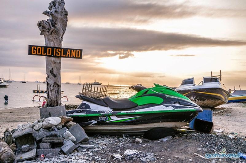 Water sport Serangan island