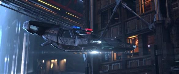 Cyberpunk 2077 - Police Cruiser