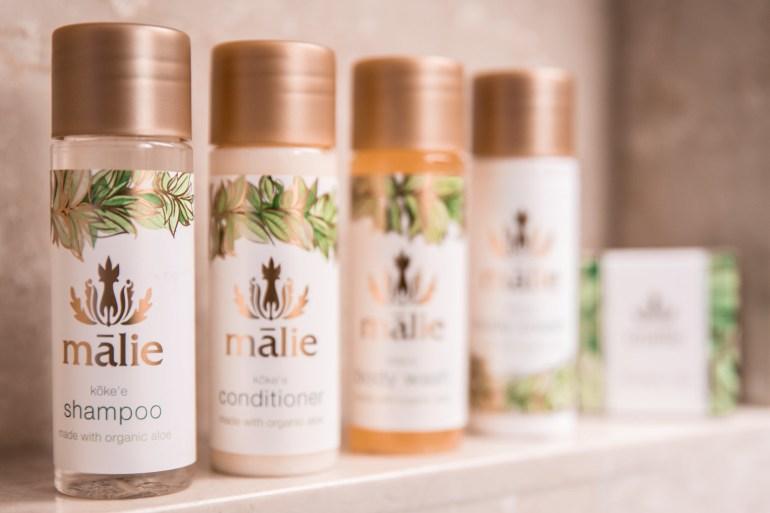 Prince Waikiki Hotel Malie Organics Products