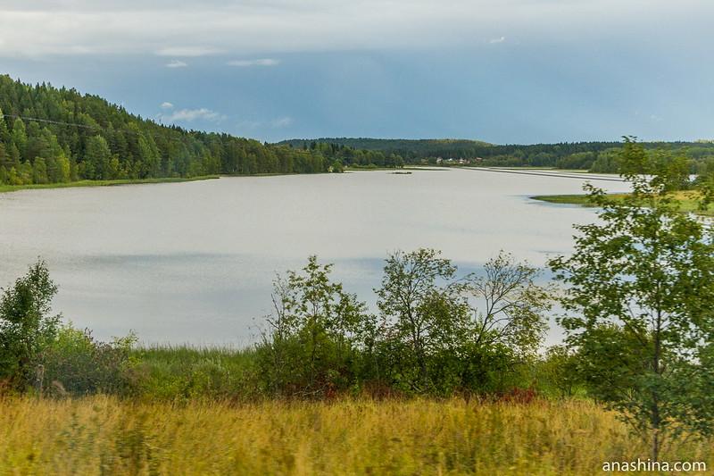 Озеро или залив