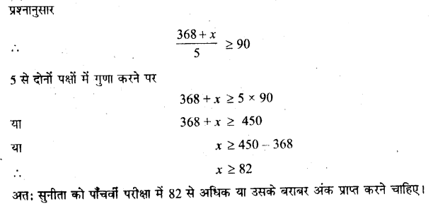 UP Board Solutions for Class 11 Maths Chapter 6 Linear Inequalities 6.1 22.1
