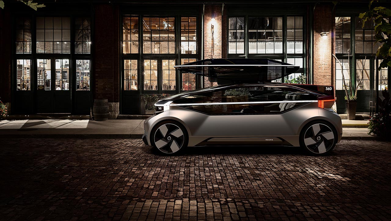 Volvo 360c concept shows swedish brands take on autonomous transport
