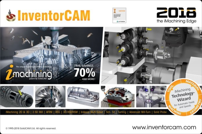 InventorCAM 2018 Documents and Training Materials for engineer