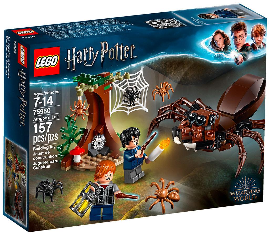 review lego 75950 harry potter aragog's lair - hellobricks