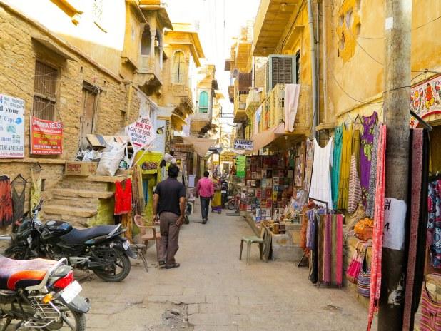 Ruta a pie por Jaisalmer