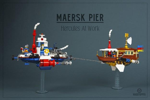 """Maersk Pier Airtug """"Hercules"""""""