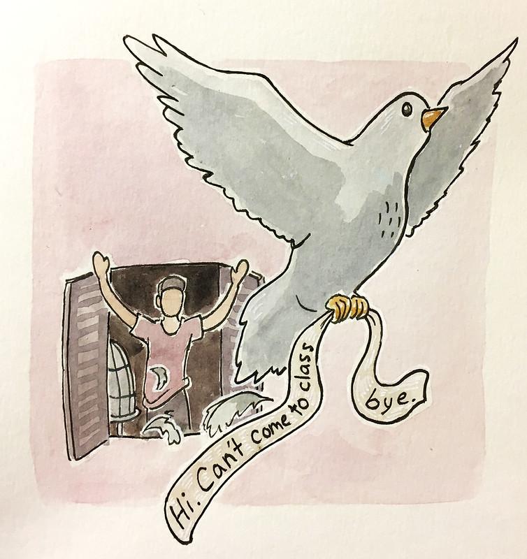 professor email illustration