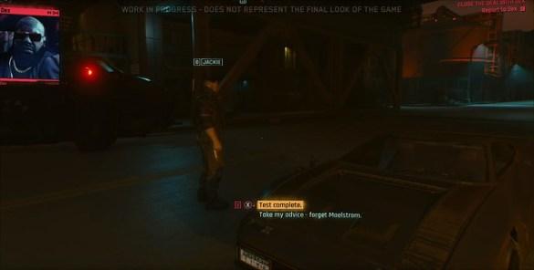 Cyberpunk 2077 - Dex Dialogue Options