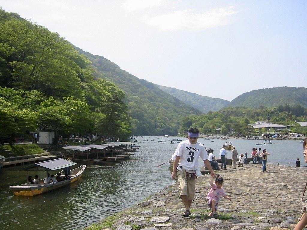 Arashiyama: Katsura Rivier