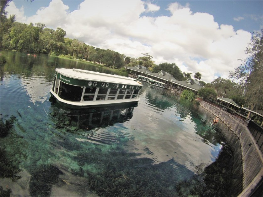 Glass Bottom Boat Tour at Silver Springs State Park, Ocala, Fla., Aug. 2017