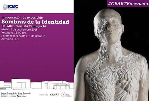 """Cartel de """"Sombras de la identidad"""""""