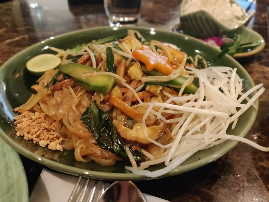 Pad Thai Apinara Thai Restaurant Pacific Place Hong Kong