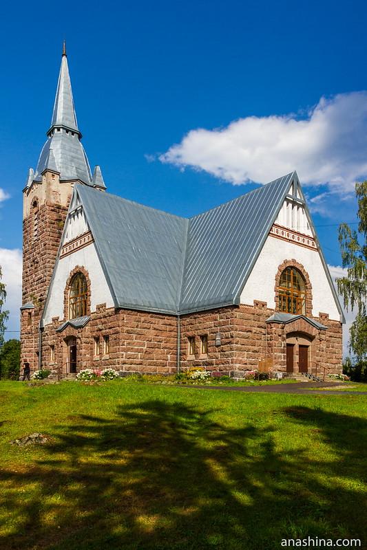 Финская лютеранская кирха в Мельникове (Ряйсяля), Ленинградская область