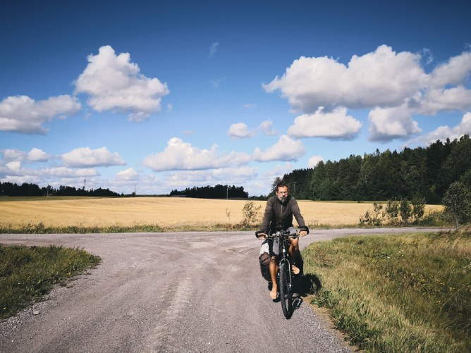 Salo-Helsinki bicycle trip