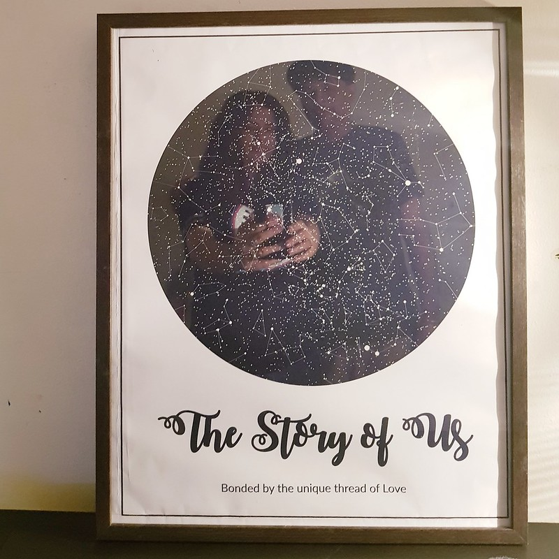 What Is A Star Map.Custom Night Sky Star Map From Modern Map Art Rainbowdiaries Review