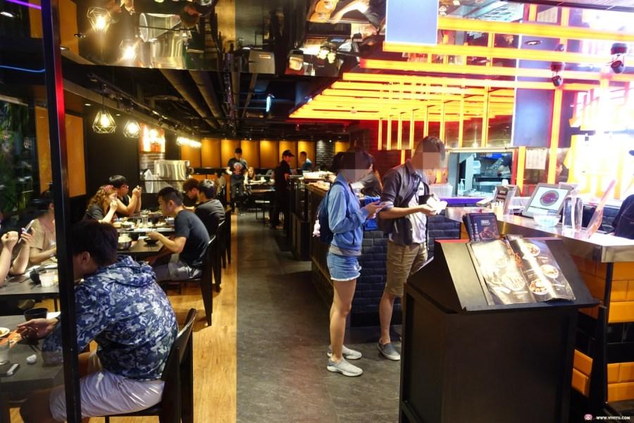 [桃園美食]開丼~位於桃園ATT筷食尚四樓的地表最強丼飯.爆肉山丼層層堆疊的驚人燒肉高度好嚇人 @VIVIYU小世界