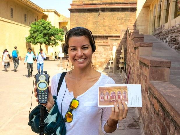 Entrada al fuerte de Jodhpur