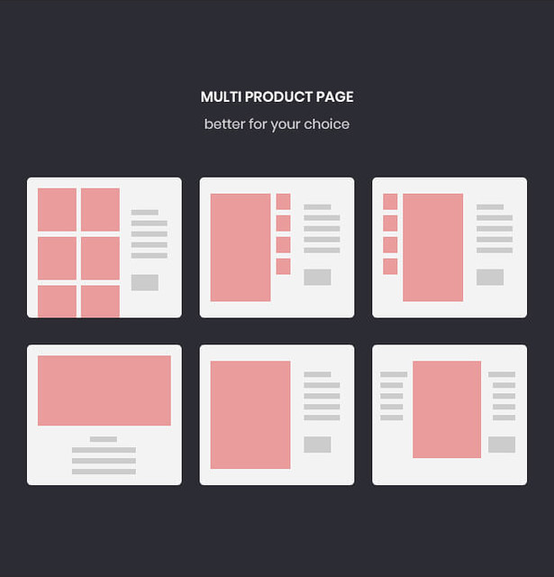 multi product pages