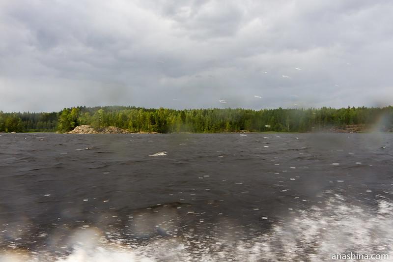 Ладожское озеро, залив Лехмалахти