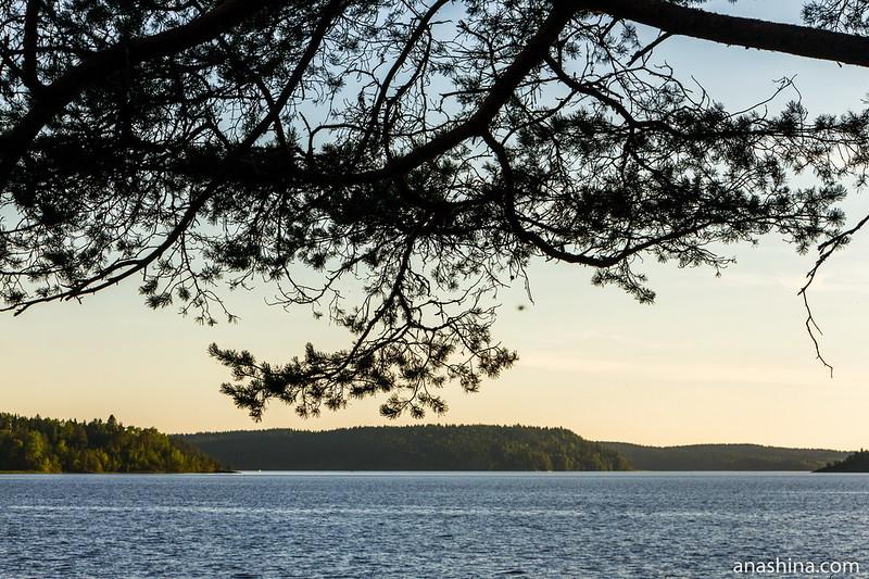 Предзакатный час, Ладожское озеро