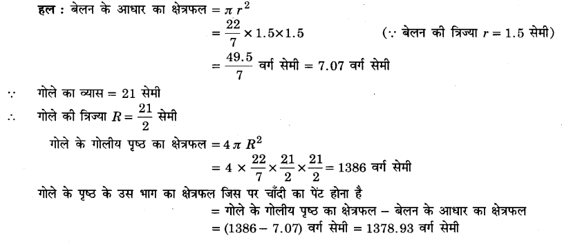 UP Board Solutions for Class 9 Maths Chapter 13 Surface Areas and Volumes 13.9 2.1