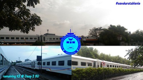 Bedah Rangkaian Kereta Api Bisnis di Daop 2 Bandung