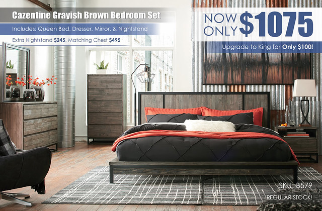 Cazentine Grayish Brown Bedroom Set_B579-31-36-46-58-56-91-Q348_RS