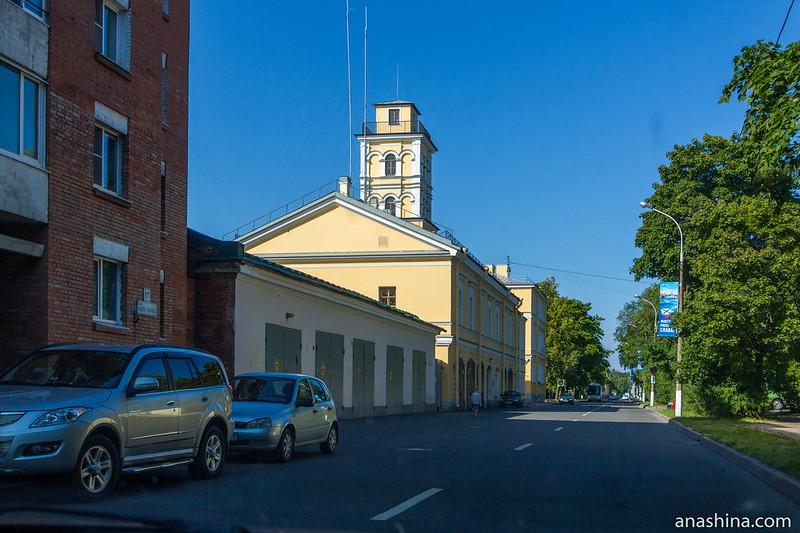 Одна из улиц Кронштадта
