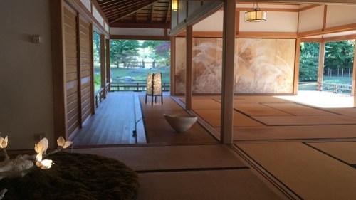 Korokan jardín japonés