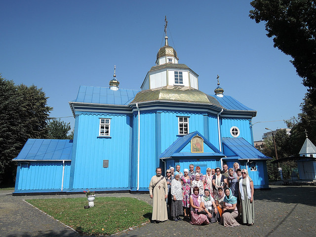 Паломництво 2018 08 24. Holy Assumption Church. Rivne, Ukraine.