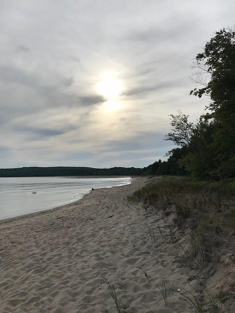 Pancake Bay beach