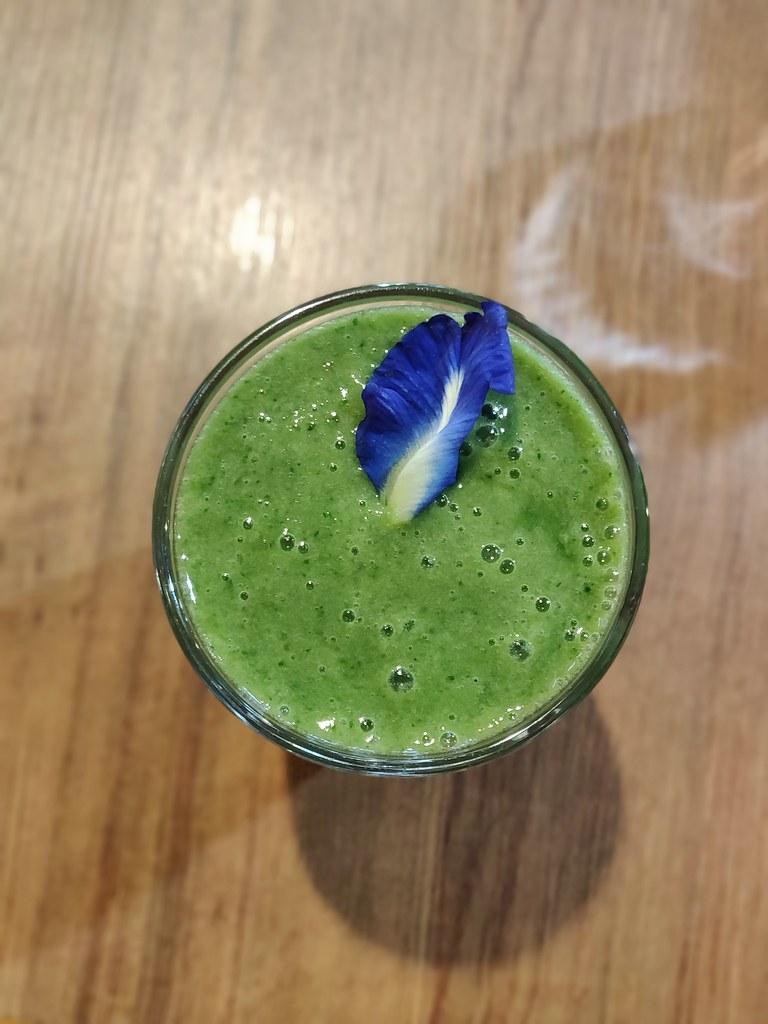 Vegan Smoothie Greenwoods Raw Cafe TST Hong Kong