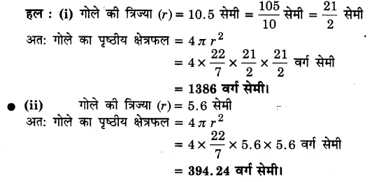 UP Board Solutions for Class 9 Maths Chapter 13 Surface Areas and Volumes 13.4 1