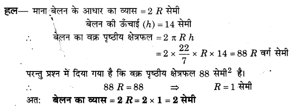 NCERT Solutions for Class 9 Maths Chapter 13 Surface Areas and Volumes (Hindi Medium) 13.2 1