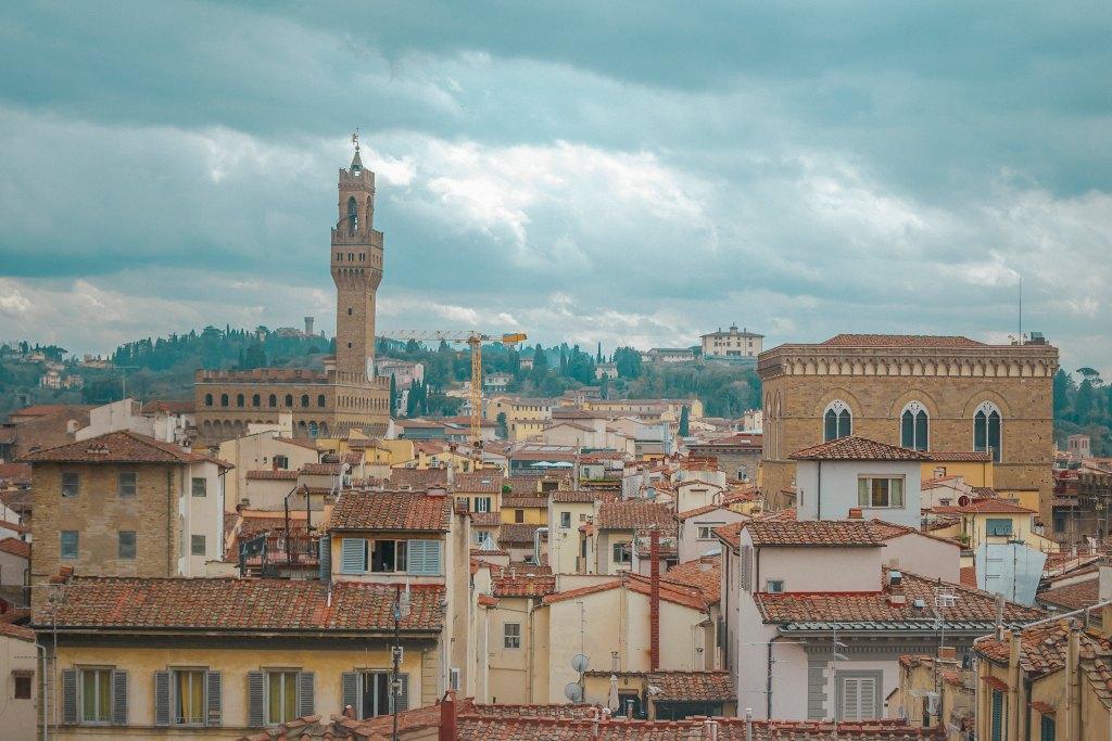 Firenze, vista dal Campanile di Giotto