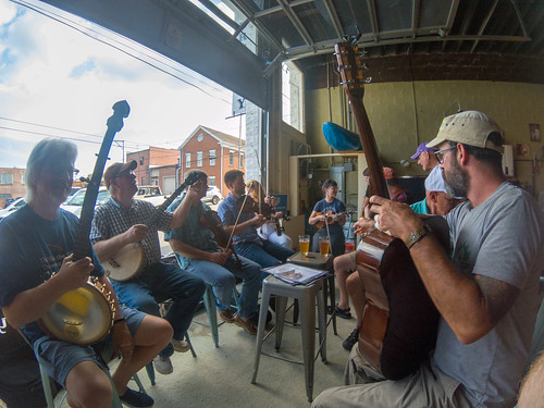 French Broad Valley Musicians Association at Sanctuary Brewing-001