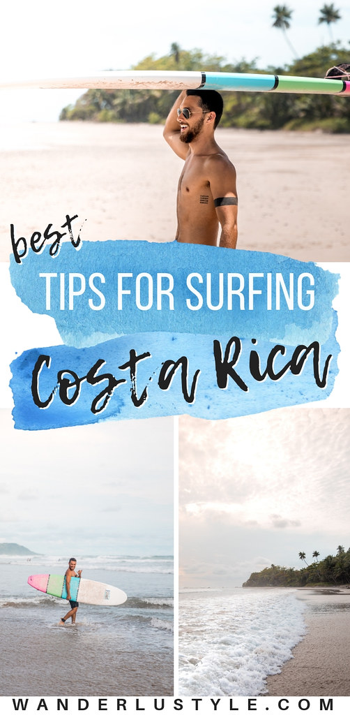 Best Tips for Surfing in Costa Rica - Playa Hermosa, Santa Teresa, Costa Rica Surf, Surf Costa Rica, Surfing Tips | Wanderlustyle.com