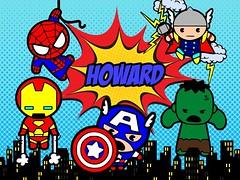 Superheroes - kawaii avengers
