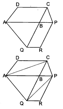 UP Board Solutions for Class 9 Maths Chapter 9 Area of Parallelograms and Triangles 9.3 9