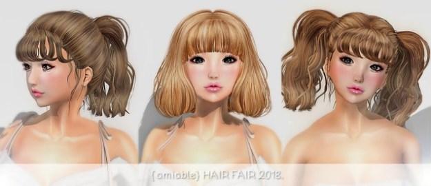 {amiable} HAIR FAIR 2018.