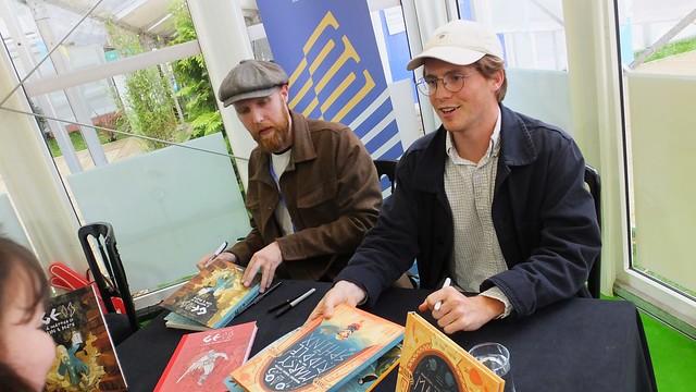 Edinburgh International Book Festival 2018 - Alexis Deacon & Joe Todd-Stanton 03