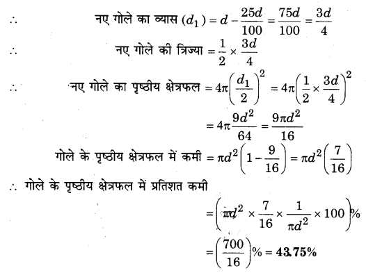 NCERT Solutions for Class 9 Maths Chapter 13 Surface Areas and Volumes (Hindi Medium) 13.9 3