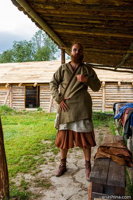 Кафтан, Музей живой истории эпохи викингов Бьоркагард, Берёзово
