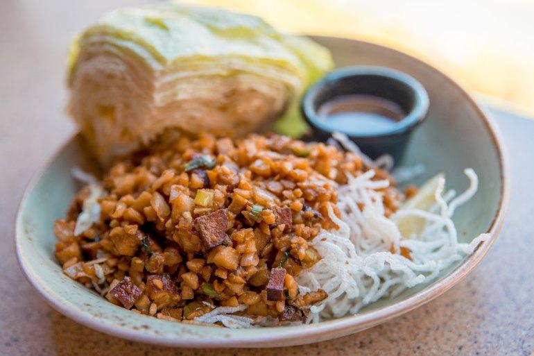 PF Chang's Waikiki Restaurant Vegetarian Lettuce Wraps