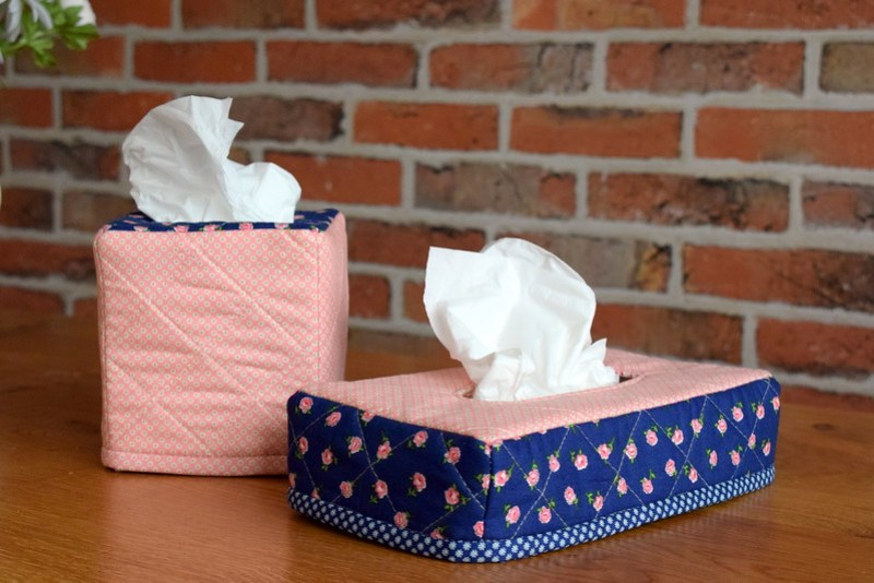 Tissue Box Cover Tutorial
