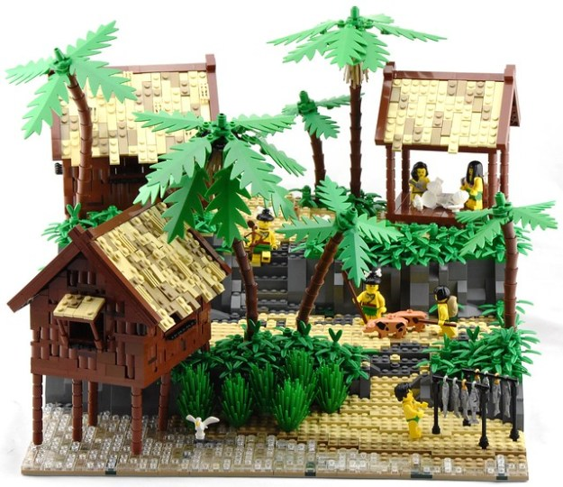 Native Pearling Village - Main